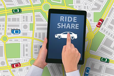 share a cab