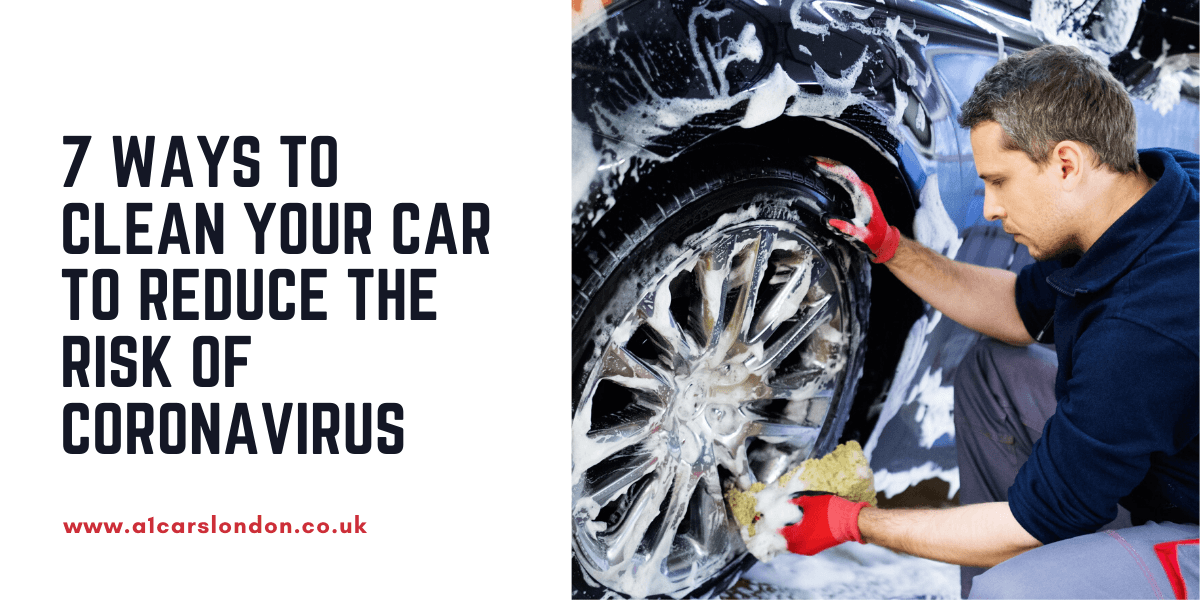 7 ways to clean your car to reduce the risk of coronavirus