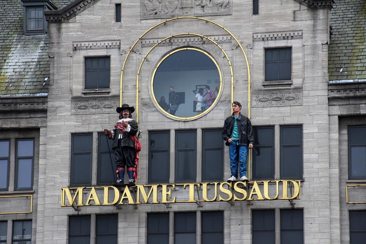 Madame Tussauds lifelike wax statue studio