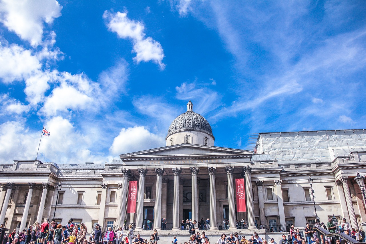 The national gallery: A place with a wide collection of paintings