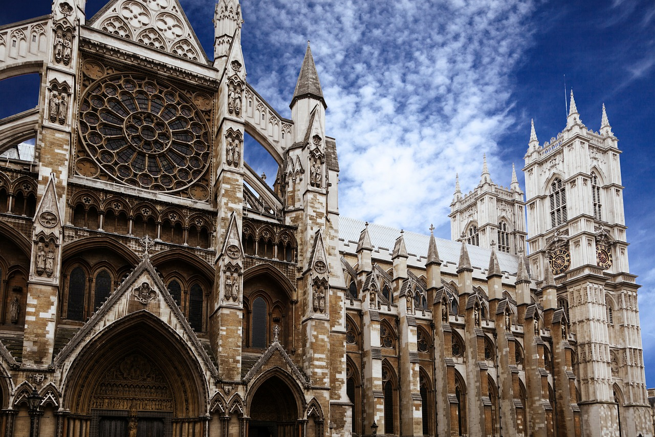 Westminster Abbey: famous for royal marriages